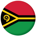 Vanuatu Country Flag 58mm Button Badge